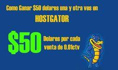 Ganar $50 dolares una y otra ves con hostgator | Ganar dinero con Hostgator