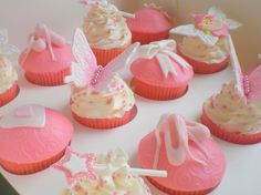 girly cupcakes   Sugar Siren Cakes