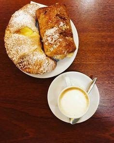 Two is better than one!#buonacolazione#dersut#coffee #colazioneitaliana #saturday #weekend #brioche #instafood