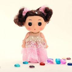 Dress Doll Keychain