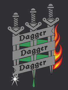 Critical Role - Dagger Dagger Dagger T-Shirt
