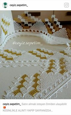 This Pin was discovered by ınc Lace Making, Baby Knitting Patterns, Crochet, Tatting, Elsa, Diy And Crafts, Cool Designs, Embroidery, How To Make
