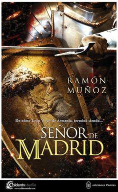 Diseño e ilustración de cubierta que he realizado para la novela histórica SEÑOR DE MADRID próximamente en Ediciones Pàmies