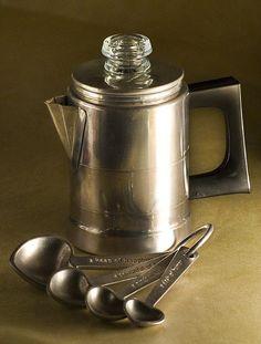 Coffee Pot - for Postum:)  #coffeepercolator