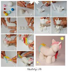 Fimo / Clay Unicorn Tutorial