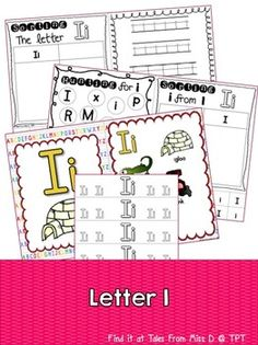 Letter IThis pack contains no prep/print and go activities for the letter I.Includes;1) Posters x 22) Letter Hunt3) Case Sorting4) Letter Sorting5) Handwriting6) BraceletsRelated ProductsLetter ALetter MLetter SLetter TBe the first to know about my products and sales!Like what you see?