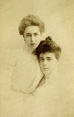 Princess Beatrice of Edinburgh and cousin Grand Duchess Helena of Russia
