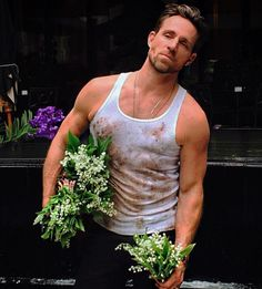 Jeff Leatham Jeff Leatham, Bloom Where Youre Planted, Floral Flowers, Naked, Tank Man, Mens Tops