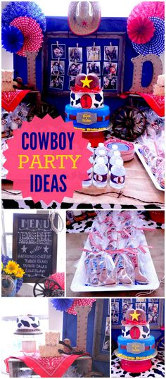 261 Best Cowboy Party Ideas Images Cowboy Birthday Party Birthday