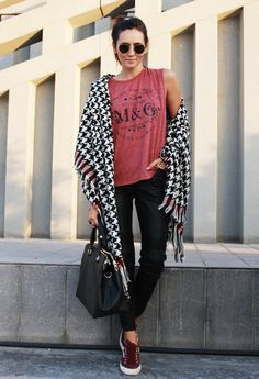 """Burgundy Superga - """"Outfit ideas, by Chicisimo"""" Fashion iPhone app"""