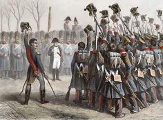 Napoleon enters Grenoble on March 8th 1815
