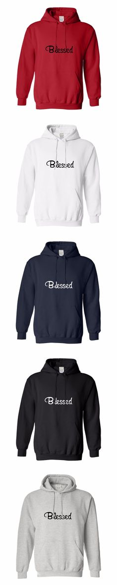 Inspirational Quote Gifts Blessed Christian Life Long hoodie For Men,pullover hoodie,Men's Fashion,Men's Cotton pullover