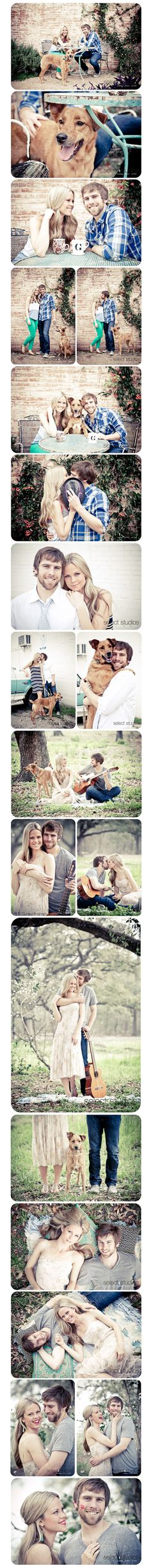 Sweet Engagement Session with the couple's dog!