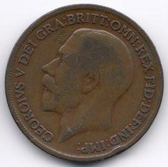 United Kingdom Penny 1920 Veiling in de Pennies,Brits,Munten,Munten & Banknota's Categorie op eBid België