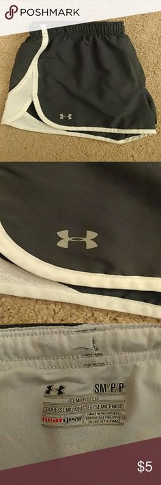 Under Armor Athletic Shorts Dry-Fit material, comfortable, good condition, built-in underwear Under Armour Other