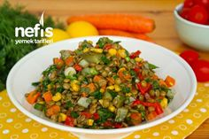Yesil Mercimek Salatası Salsa, Mexican, Vegetables, Ethnic Recipes, Food, Salsa Music, Veggies, Vegetable Recipes, Meals