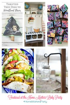 Show mom just how special she is with these fabulous Mother's Day celebration ideas. Make mom feel like a queen! Plus, link up at Home Matters with recipes, DIY, crafts, decor. Woodland Decor, Rustic Decor, Tasty, Yummy Food, Diy Recipe, Big Party, Queen, Easy Projects, Creative Crafts