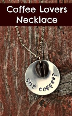 Coffee Lovers Necklace by pkorina