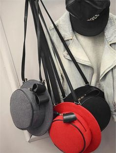 Bolsas divertidas chapéus
