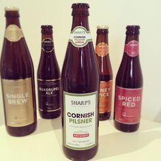Sharp's Brewery Cornish Pilsner - 5.2% ABV - lovely crisp and refreshing pilsner