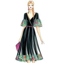 Marfy Dress - McCalls F3440