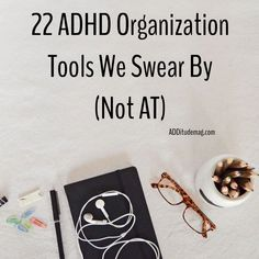"We asked our readers: ""What ADHD organization tools do you swear by — not at?"" And they shared the best high-tech and low-tech solutions that help them everyday. Adhd Odd, Adhd And Autism, What Is Adhd, Adhd Brain, Adhd Help, Adhd Strategies, Attention Deficit Disorder, Adult Adhd, Learning Disabilities"