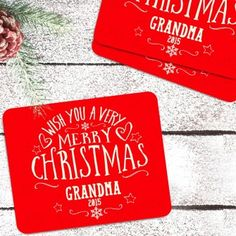 Personalised Christmas Placemats Personalized Christmas Gifts, Homemade Christmas Gifts, Christmas Gifts For Women, Diy Stocking Fillers, Christmas Placemats, Xmas Stockings, Merry Christmas, Gift Ideas, Homemade Christmas Presents