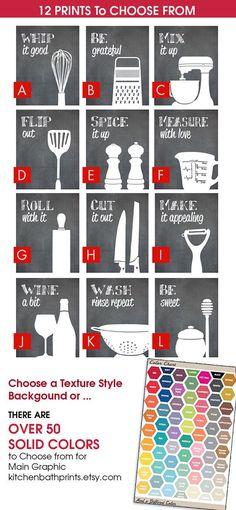 74590937552545543 Funny Kitchen Art Print Set Spatula Cheese by KITCHENBATHPRINTS