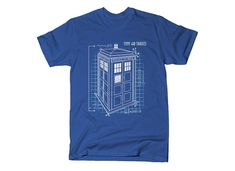 Tardis T shirt Transfer,bibs,bags and Cushions