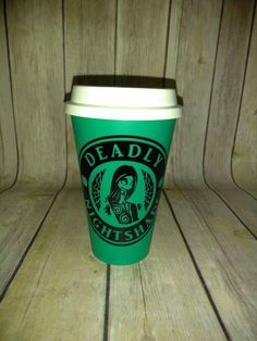 Deadly Nightshade Coffee - Reusable Travel Mug - Nightmare Before Christmas - Jack Skellington Coffee - Sally Stitch - Top selling TNBC item by UntamedCustomGifts on Etsy https://www.etsy.com/listing/243423642/deadly-nightshade-coffee-reusable-travel