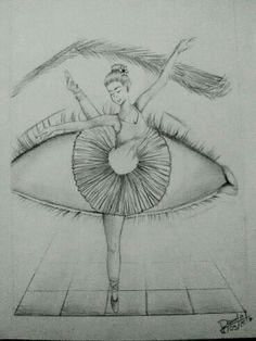 Ceva de genul art em 2019 art sketches, ballet drawings e da Cool Eye Drawings, Pencil Art Drawings, Art Drawings Sketches, Beautiful Drawings, Ballet Drawings, Dancing Drawings, Ballerina Drawing, Ballet Shoes Drawing, Dancer Drawing