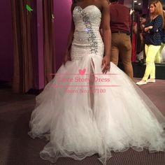 2014 Strapless Sweetheart Sequin Beaded High Side Slit Long Puffy Organza White Prom Dresses Party Dress Ball Gown-in Prom Dresses from Weddings & Events on Aliexpress.com | Alibaba Group