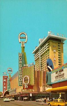 Vintage downtown Las Vegas, Liberace & his orchestra!