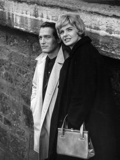 Joanne Woodward and Paul Newman in Paris blues directed by Martin Ritt, 1961