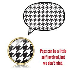 we love our houndstooth :) #patterns #houndstooth #diy #charms