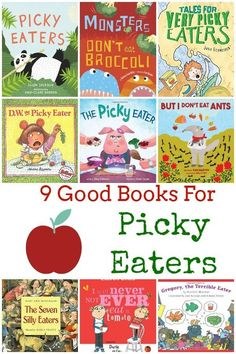 9 Good Books for Picky Eaters - Are you looking for good books for picky eaters? We've got a great list of books that will help your kids become more adventurous with food.