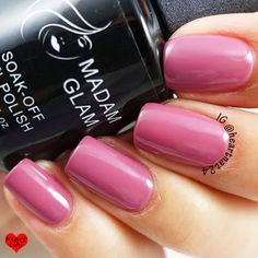 Madam Glam gel polish Chic Madame
