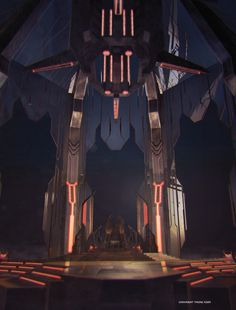 Transformers the art of prime, Megatron's  throne.