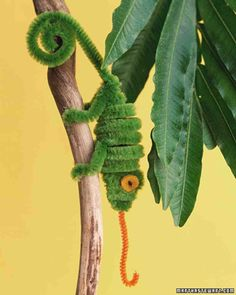 Chameleon Pipe Cleaner Creature More