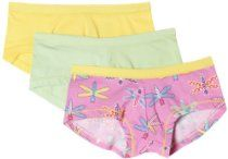 Hanes  Girls 7-16 3 Pack Stretch Boy Short