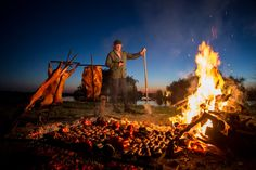 THE VINES RESORT & SPA Uco Valley, Argentina At The Vines, legendary chef Francis Mallmann sources many of his ingredients locally—after al. Fire Cooking, Outdoor Cooking, Outdoor Grilling, Francis Mallman, Patagonia, Hotel World, Romantic Escapes, Restaurant Concept, World Photo