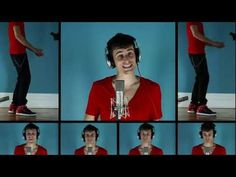 This guy is from London, Ontario. Such talent. Can't believe people like this exist. Mike Tompkins sings demi lovato All Night Long      All Night Long - Demi Lovato - Mike Tompkins - A Capella - Official - Feat. Timbaland - Unbroken