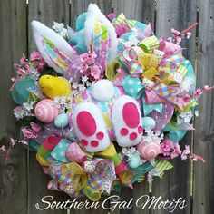 """16 Likes, 3 Comments - Southern Gal Motifs (@southerngalmotifs) on Instagram: """"Lookie Lookie!!!New Fabulous Easter design ready to adorn your door for the Easter holiday!…"""""""