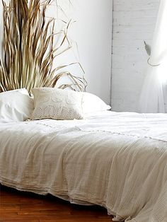 White Pintuck Quilt- Free People