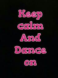 Just dance and you'll live