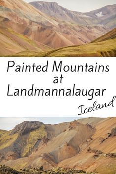 Discover the amazing painted mountains of Landmannalaugar in the heart of the Iceland Central Highlands. Pictures and Practical information at: http://www.zigzagonearth.com/landmannalaugar-iceland/