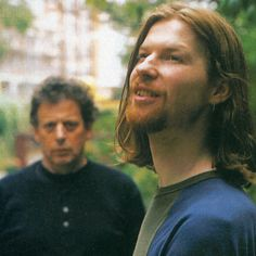 aphexcanada:  Aphex Twin and Phillip Glass