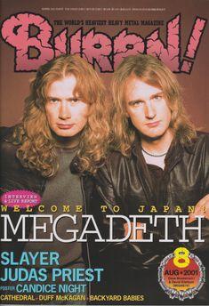 Nothin' else drools (ex — Megadeth David Ellefson, Duff Mckagan, Dave Mustaine, Greys Anatomy Memes, Metal Magazine, Famous Musicians, Judas Priest, The Big Four, Heavy Metal Bands