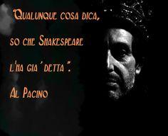 #Shakespeare #Pacino