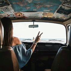 Road trip photography, adventure car, adventure awaits, hippie car, peace p Adventure Awaits, Adventure Travel, Vw Vintage, Wanderlust, Road Trippin, Travel Goals, Freedom Travel, Adventure Is Out There, Oh The Places You'll Go